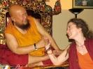Lama Gangchen y Lama Caroline